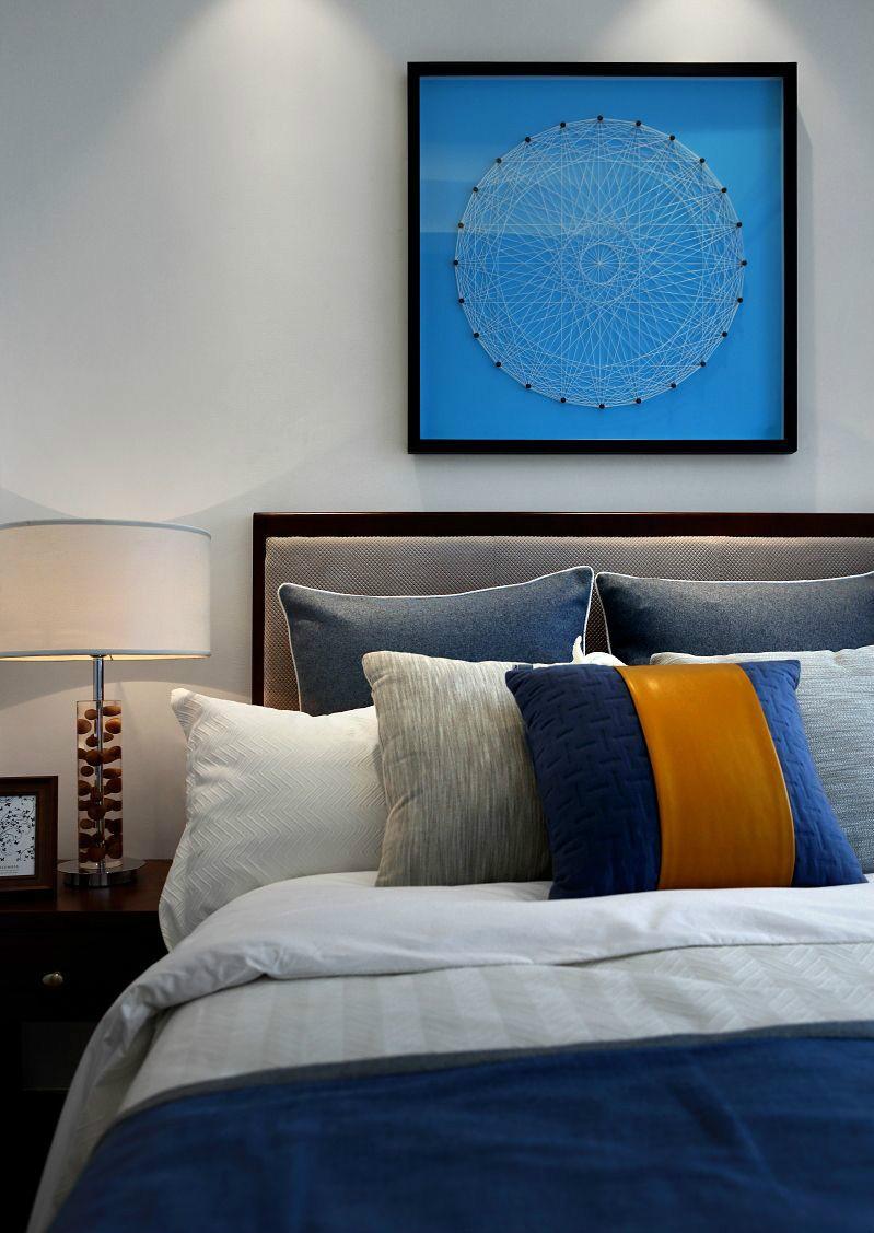 简化的中式家具普兰米灰诠释着现代中式空间10701444