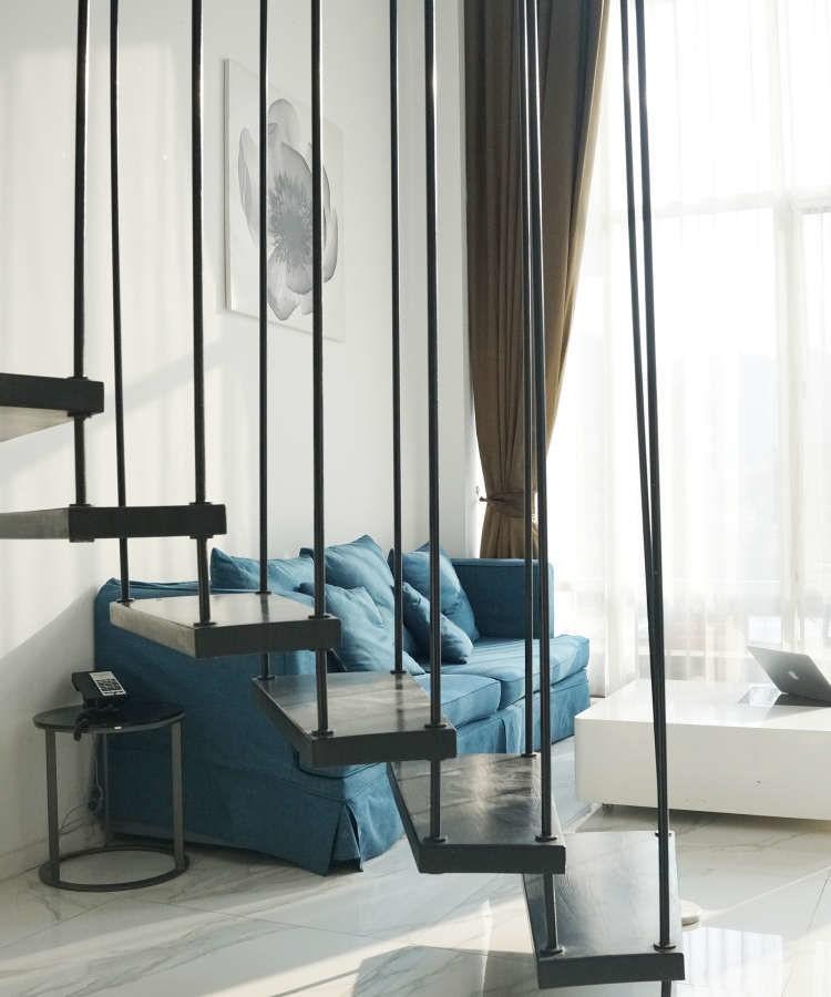 紫林灣60平公寓復式簡約風格10728092