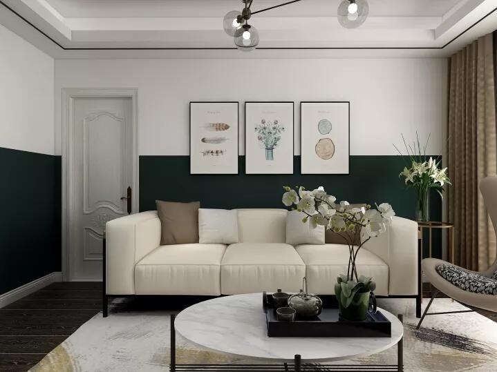 91㎡的北欧风格2居室,自然舒适的家10774677
