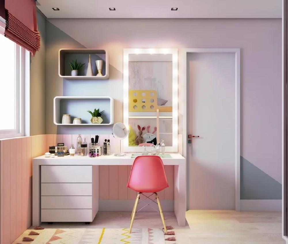 3 室 1 厅公寓,把儿童房变成主题乐园10804612