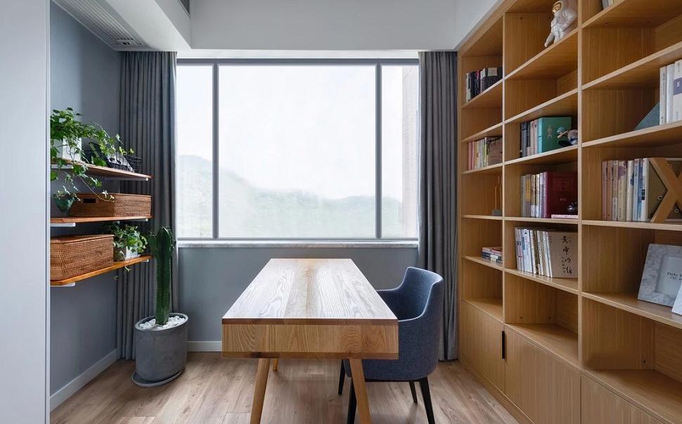 89㎡北欧小家,阳台和书房你一定喜欢10808534