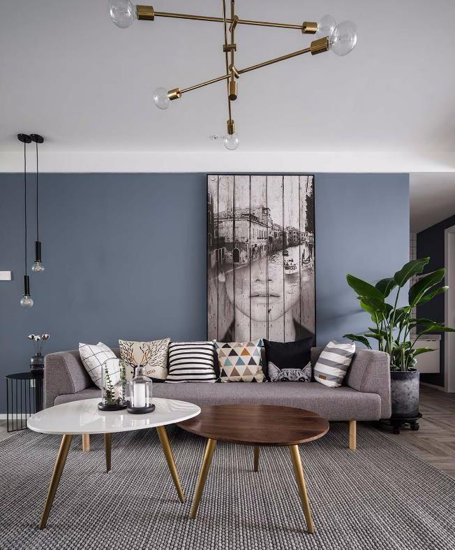 100㎡的北欧风格,自然舒适的家10847001