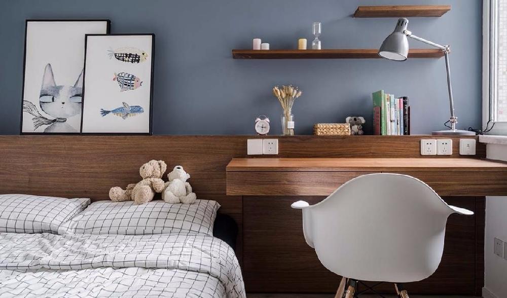100㎡的北欧风格,自然舒适的家10847018