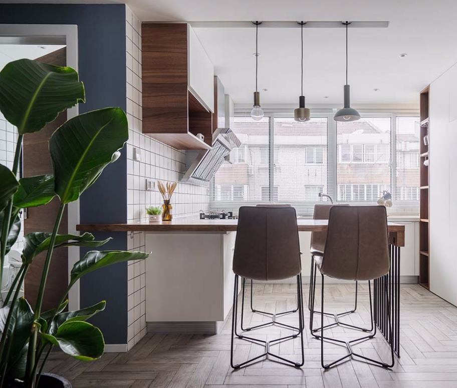 100㎡的北欧风格,自然舒适的家10847006