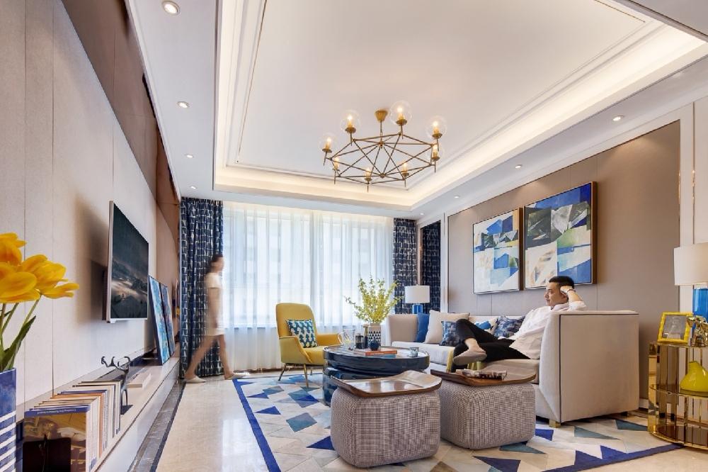 140㎡新房,從客廳美到了臥室10866878