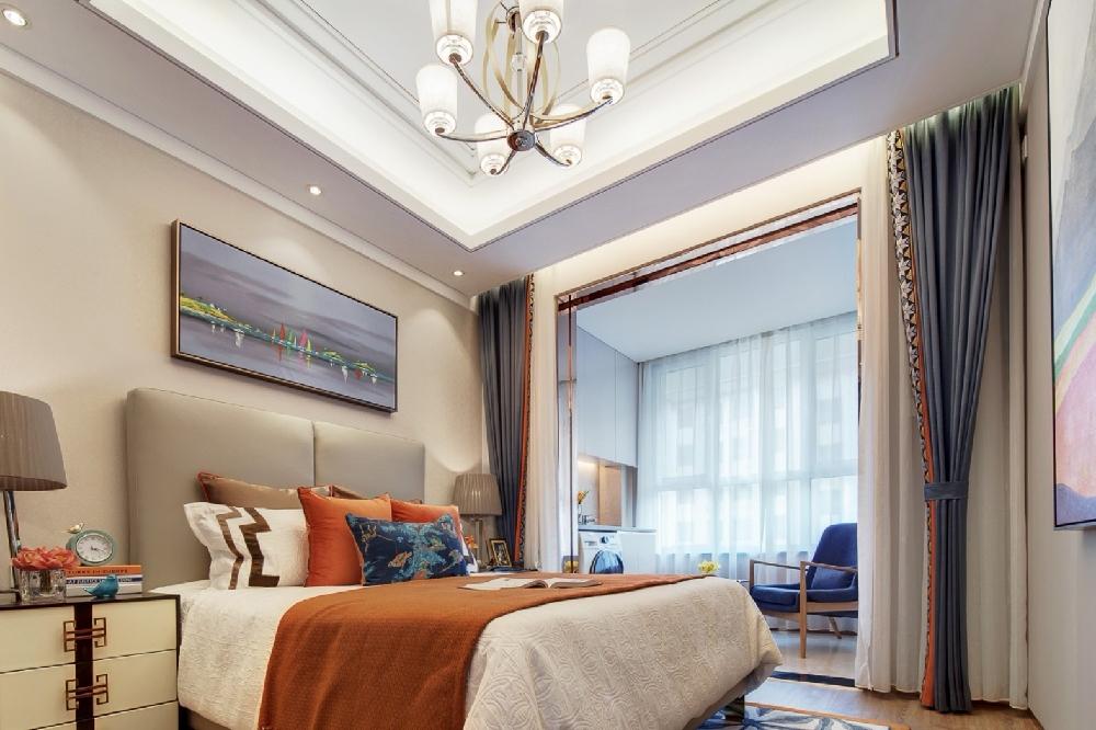 140㎡新房,從客廳美到了臥室10866892