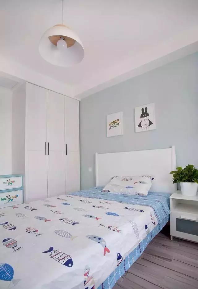 北歐風格三居室走廊柜陽臺都太美太實用了10878173