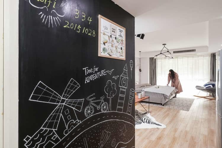 小資且美好的單身公寓|32㎡北歐風一居室10894758