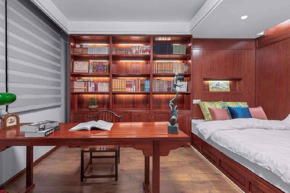 180㎡四居家装,中式融入现代简约10948020
