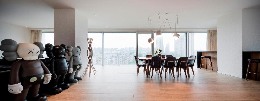 87㎡两居室,设计一个空间,道理亦如此11004722