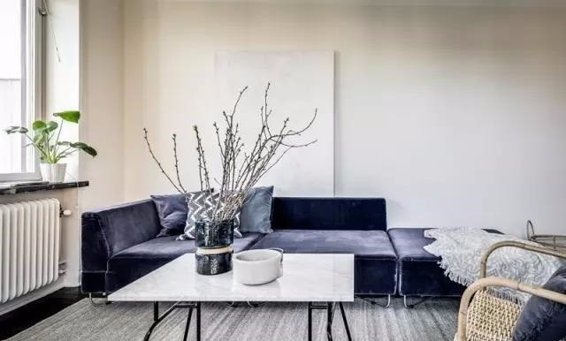 现代风格一居室,繁华深处的静谧悠然10994429