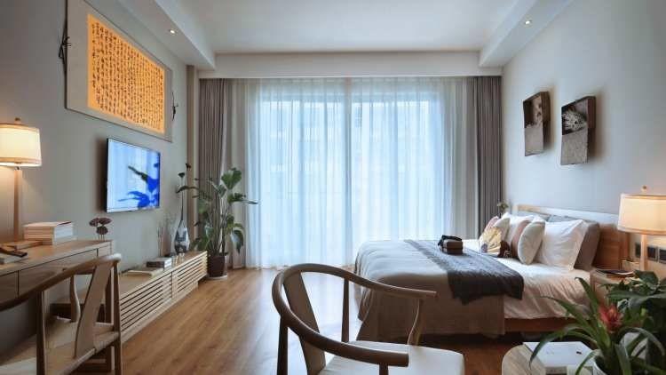 38㎡日式單身公寓,鬧市中的禪意樂居11070069