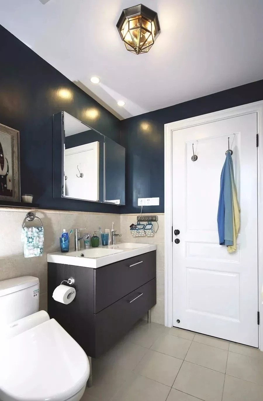 96m2现代美式风格,三居室11119351