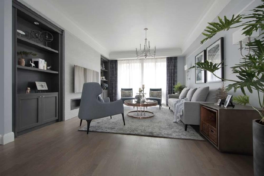 万科水晶城125㎡现代风格设计方案11165790