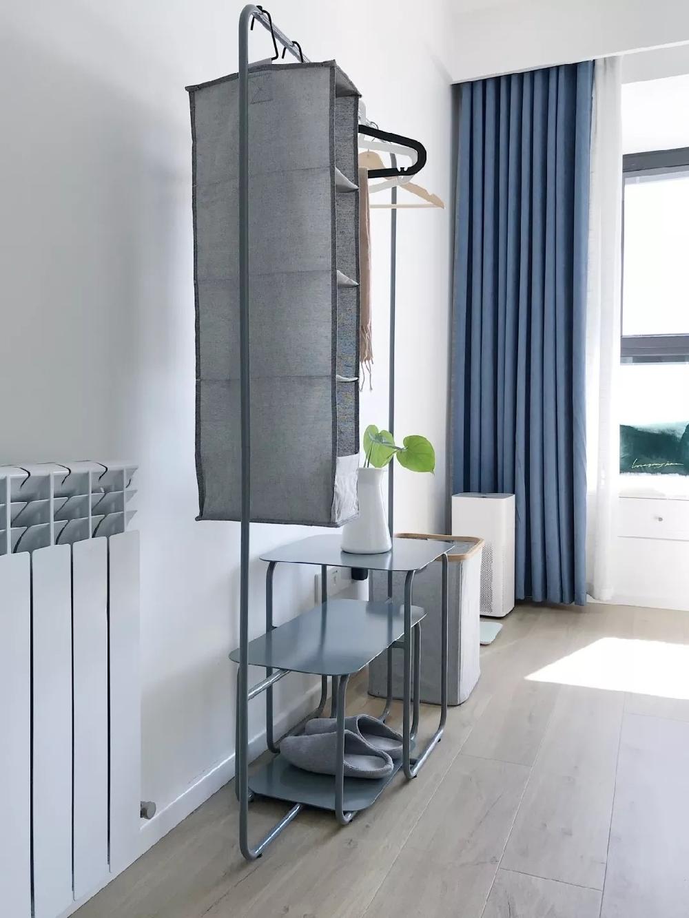 108㎡北歐三房,餐廳與廚房間的室內窗11166280