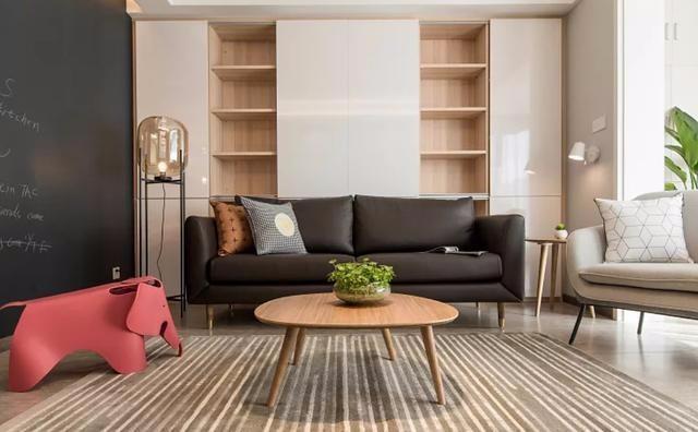 94㎡新房現代簡約風格設計11166528