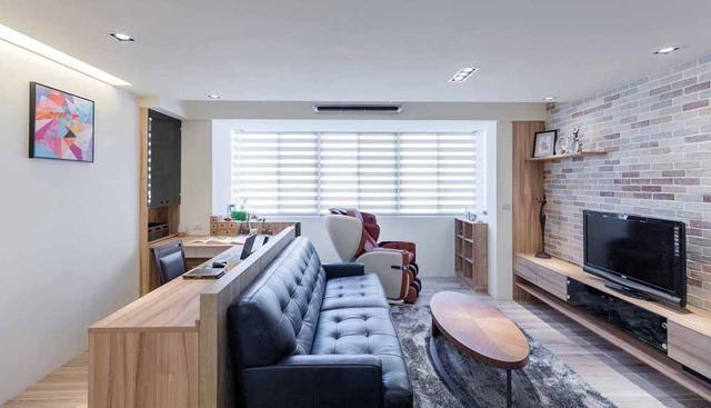 60平米老房裝修,小戶型的蛻變11203524