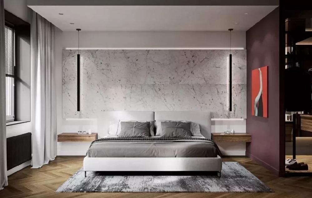 109㎡輕奢公寓,人字拼木地板太顯高級了11225396