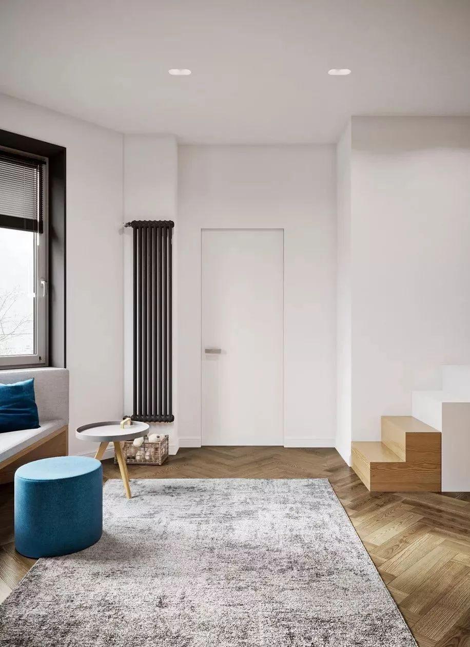 109㎡輕奢公寓,人字拼木地板太顯高級了11225388