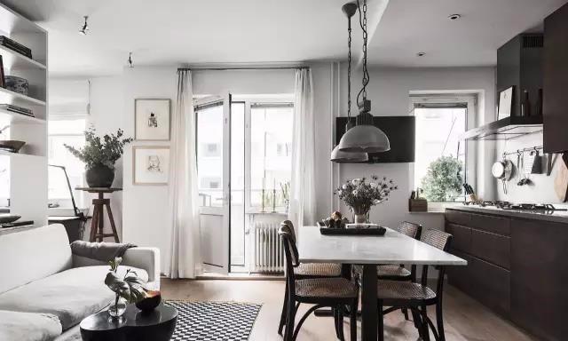 现代风格一居室,闲卧赏景,择一栖心归宿11256587