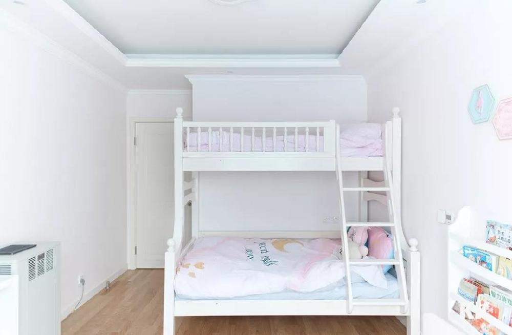 110㎡两居室,玄关鞋柜,客厅墙柜11429482