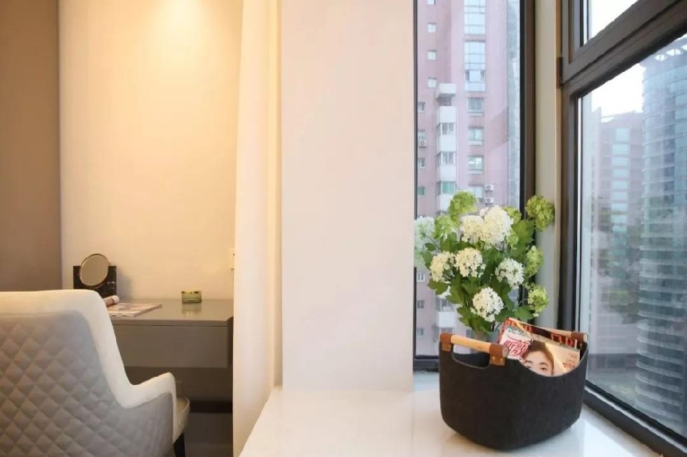 轻奢小公寓,灰色厨房最具有质感11437280