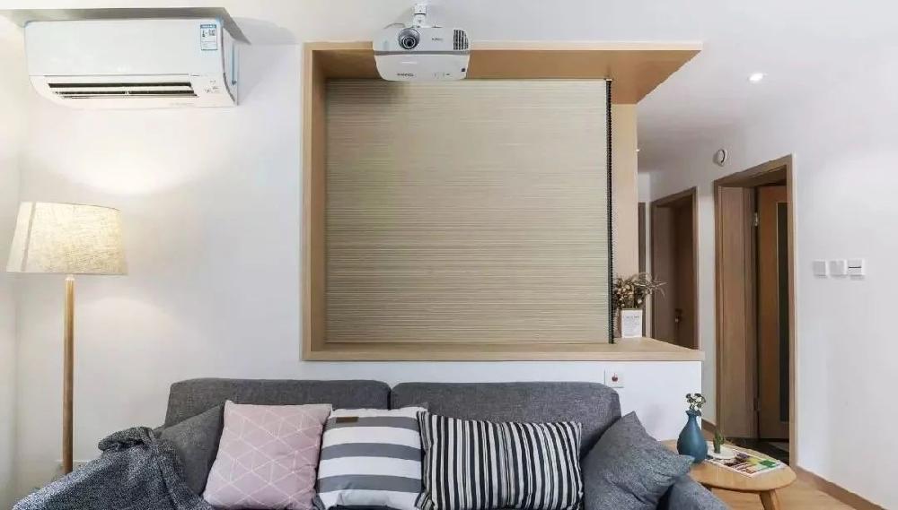 原木三室,組合玄關柜,投影電視墻11459329