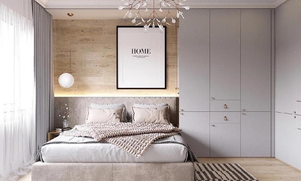 58平米极简温馨单身公寓11466170