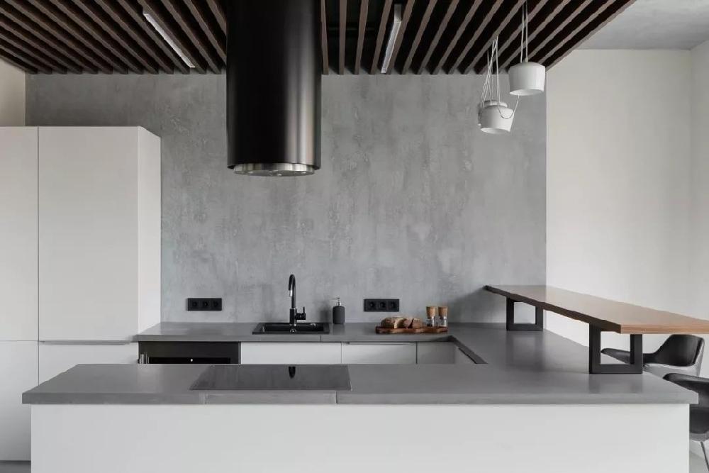 50平米 现代极简风格 以灰色打造高级感11535535