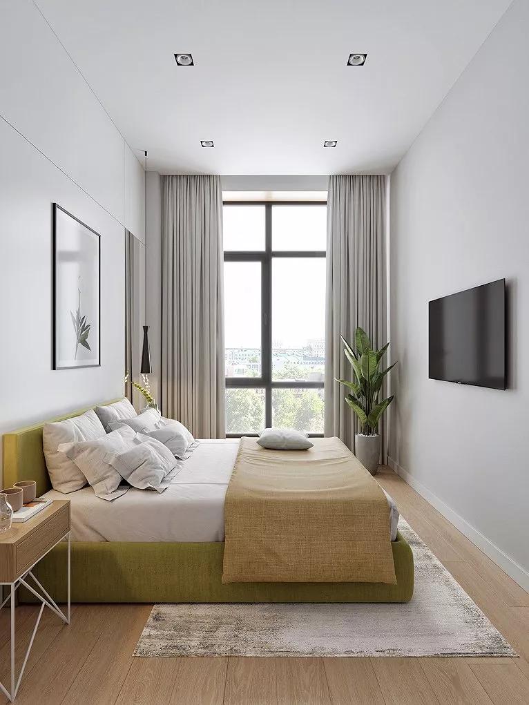 52㎡一居室,超棒的小戶型單身公寓11582719