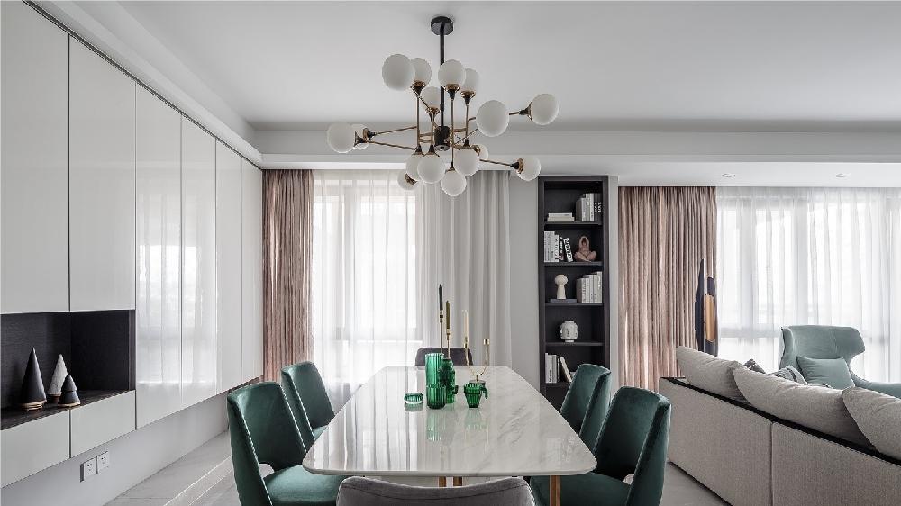 160平方现代简约风格设计都市风情11591246