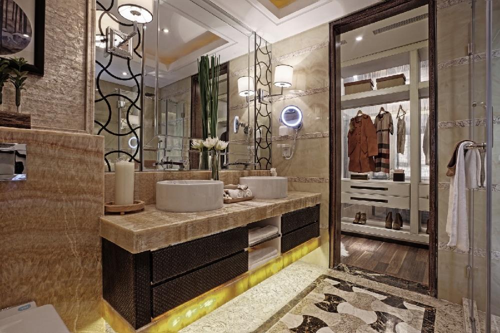 140㎡新中式風格,詩情畫意的家居!11678035