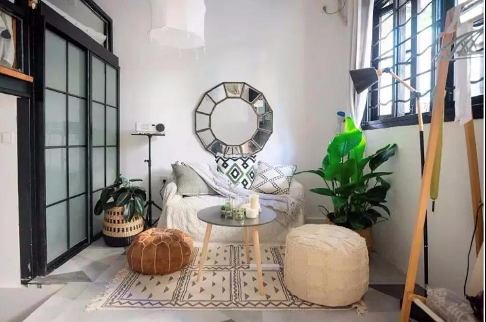26㎡单身公寓,轻松get摩洛哥风!11737600