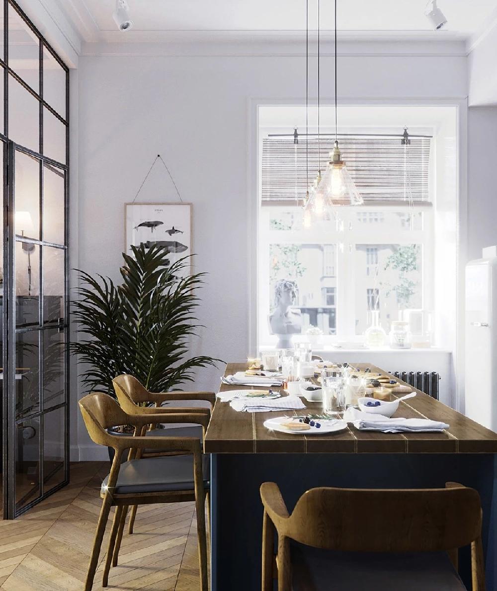 北欧风格公寓 装修设计与众不同11739677