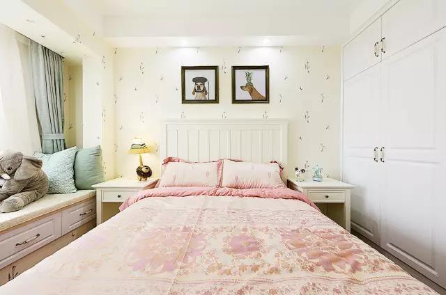 現代簡約風格--89平米溫馨婚房11746108