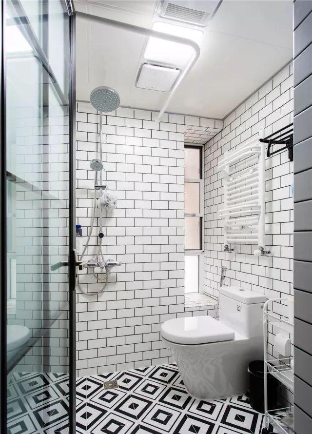 北歐新房,玻璃窗隔斷設計最搶眼了!11764604