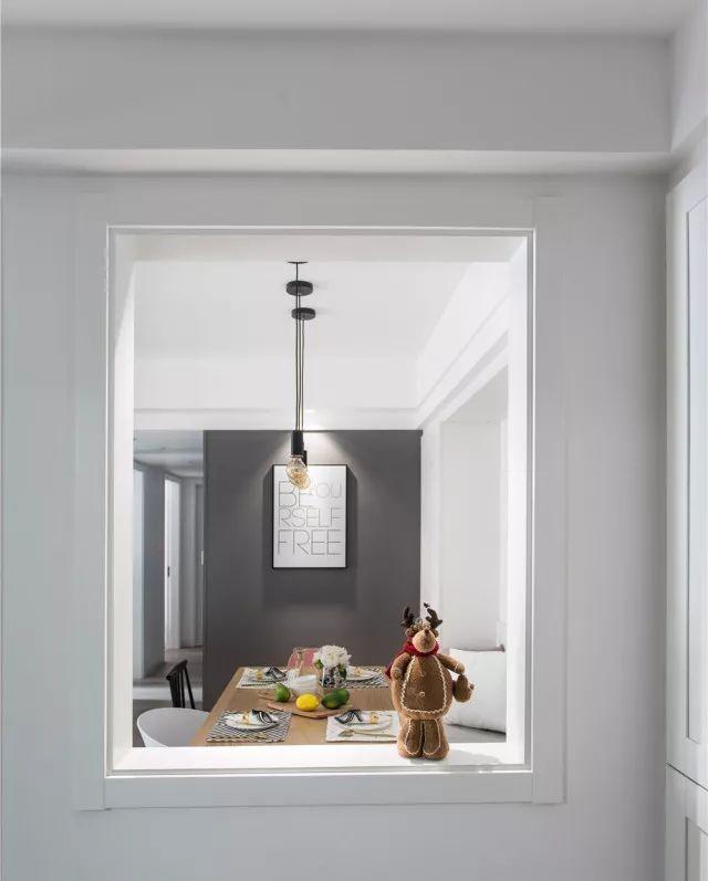北歐新房,玻璃窗隔斷設計最搶眼了!11764596