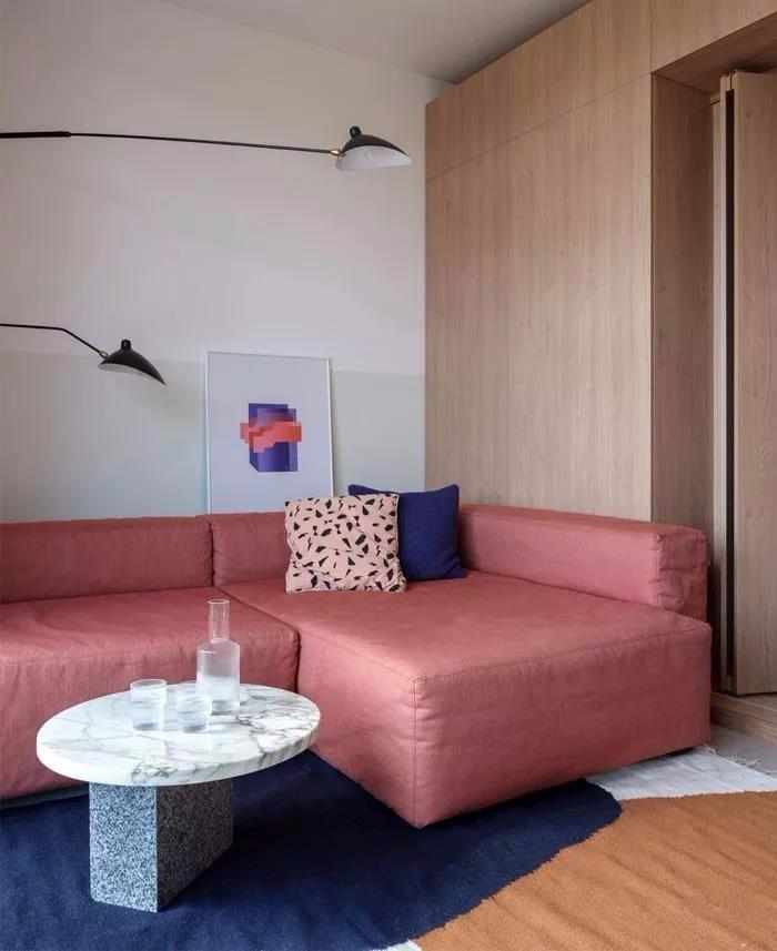 北欧风格一居室,木色家居11790993