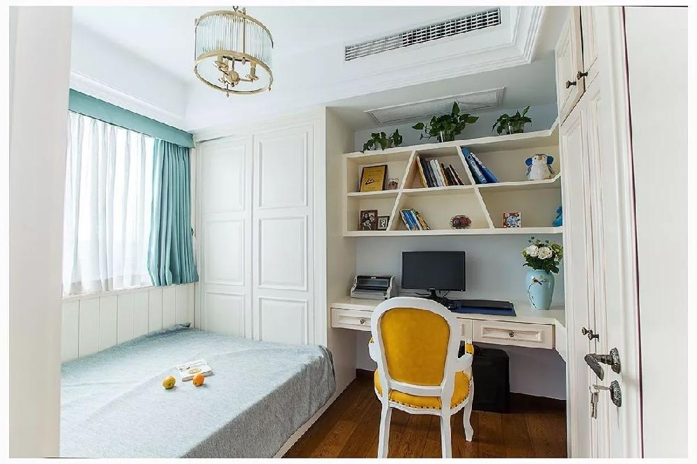 现代美式风格,客厅背景墙好洋气!11789838