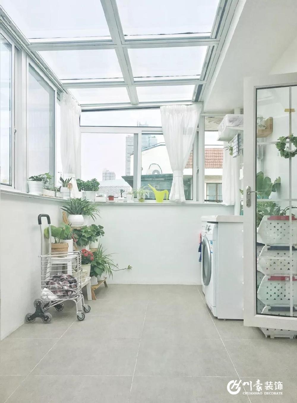 72平的清爽兩室一廳,還帶一個露臺陽光房11810880