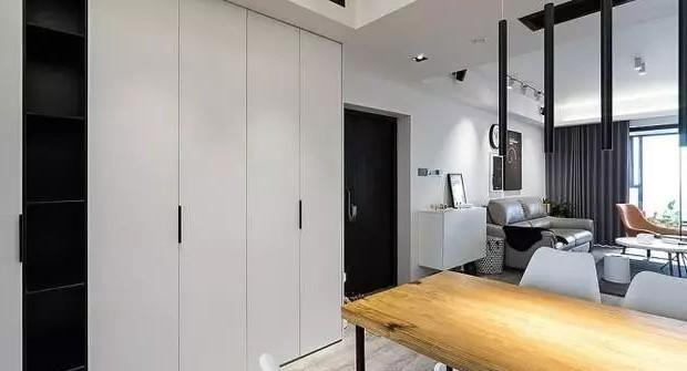 117平米现代简约风格三室两厅11812328
