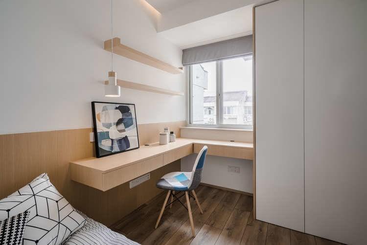 储物柜+楼梯,北欧原木风这么设计超实用!11829236