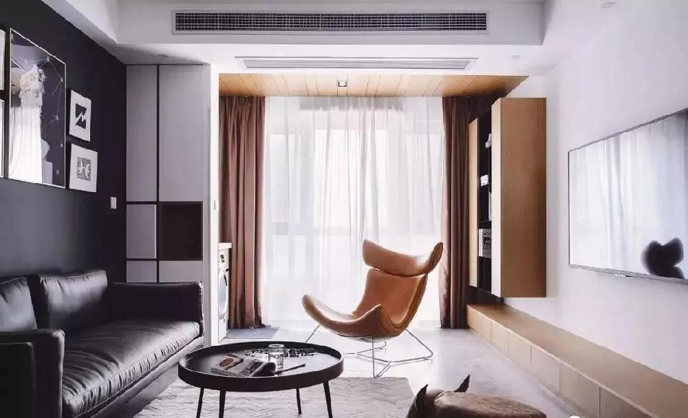 黑白灰經典配色,打造現代新居室11846019