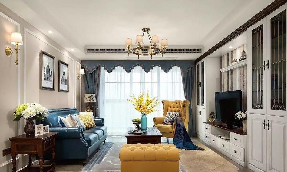 140㎡ 美式風格三室兩廳的戶型11854106
