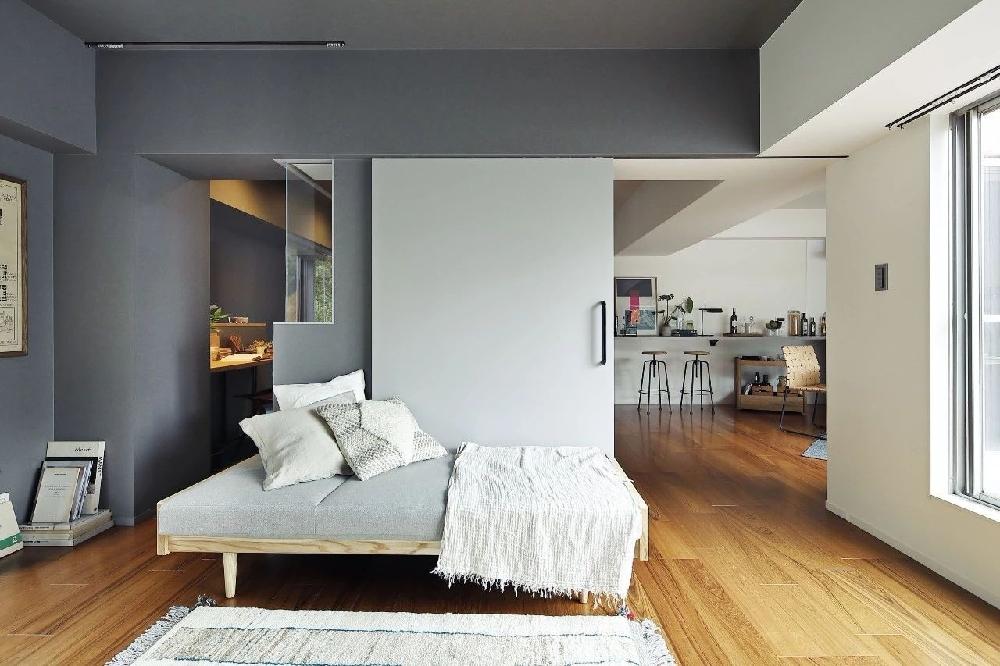 76㎡日式现代公寓顶层11861554