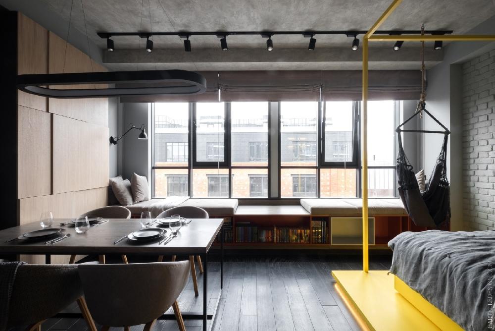 40平方混搭风格小公寓设计11998699