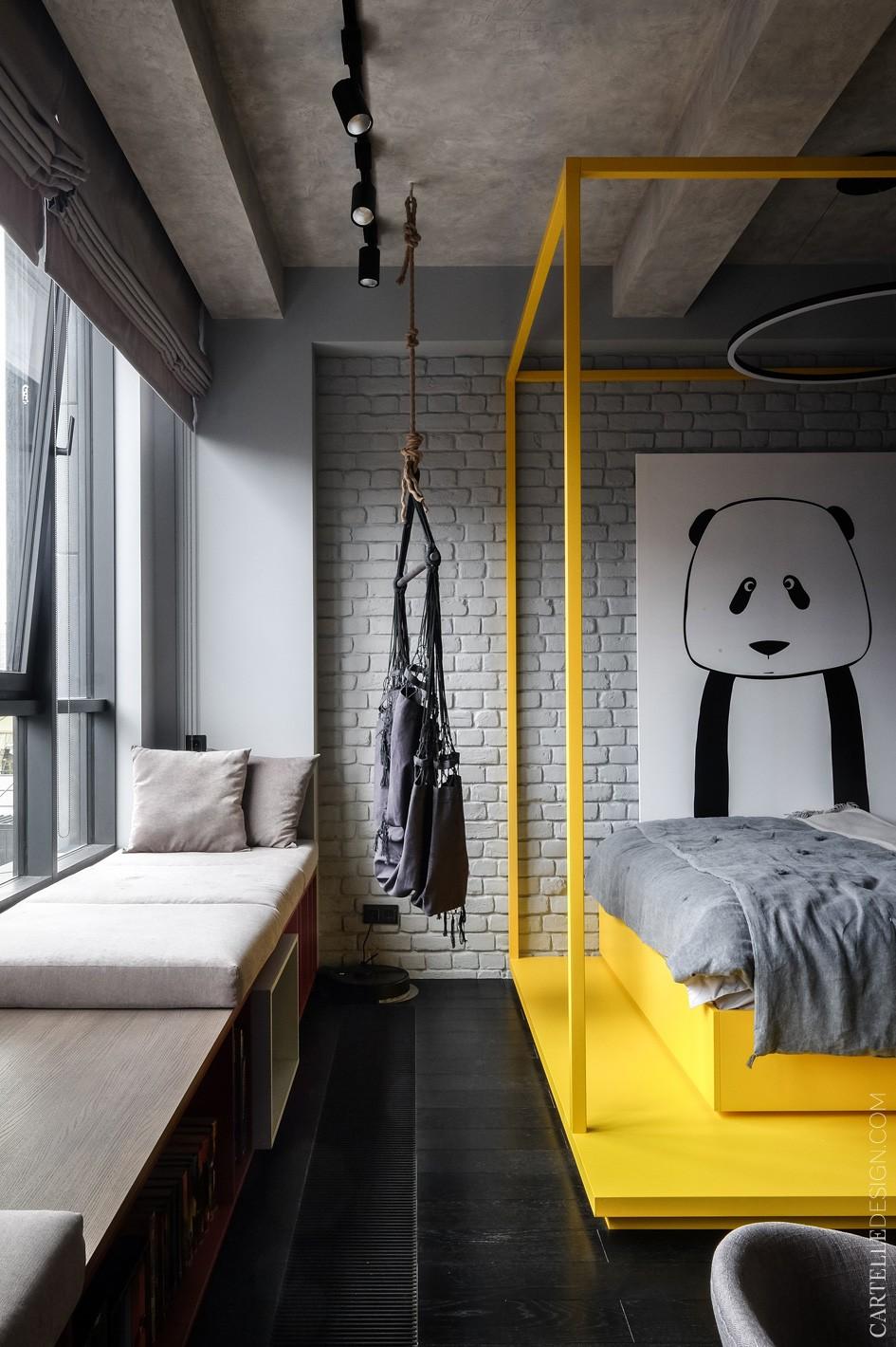 40平方混搭风格小公寓设计11998697