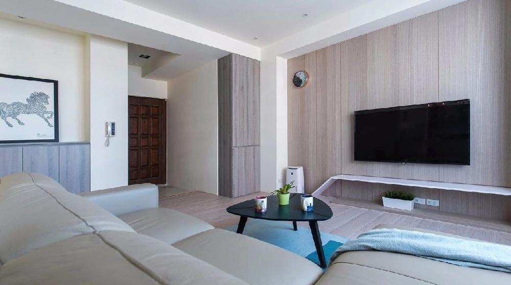 83平現代簡約三室 開合自如的多功能房12009835