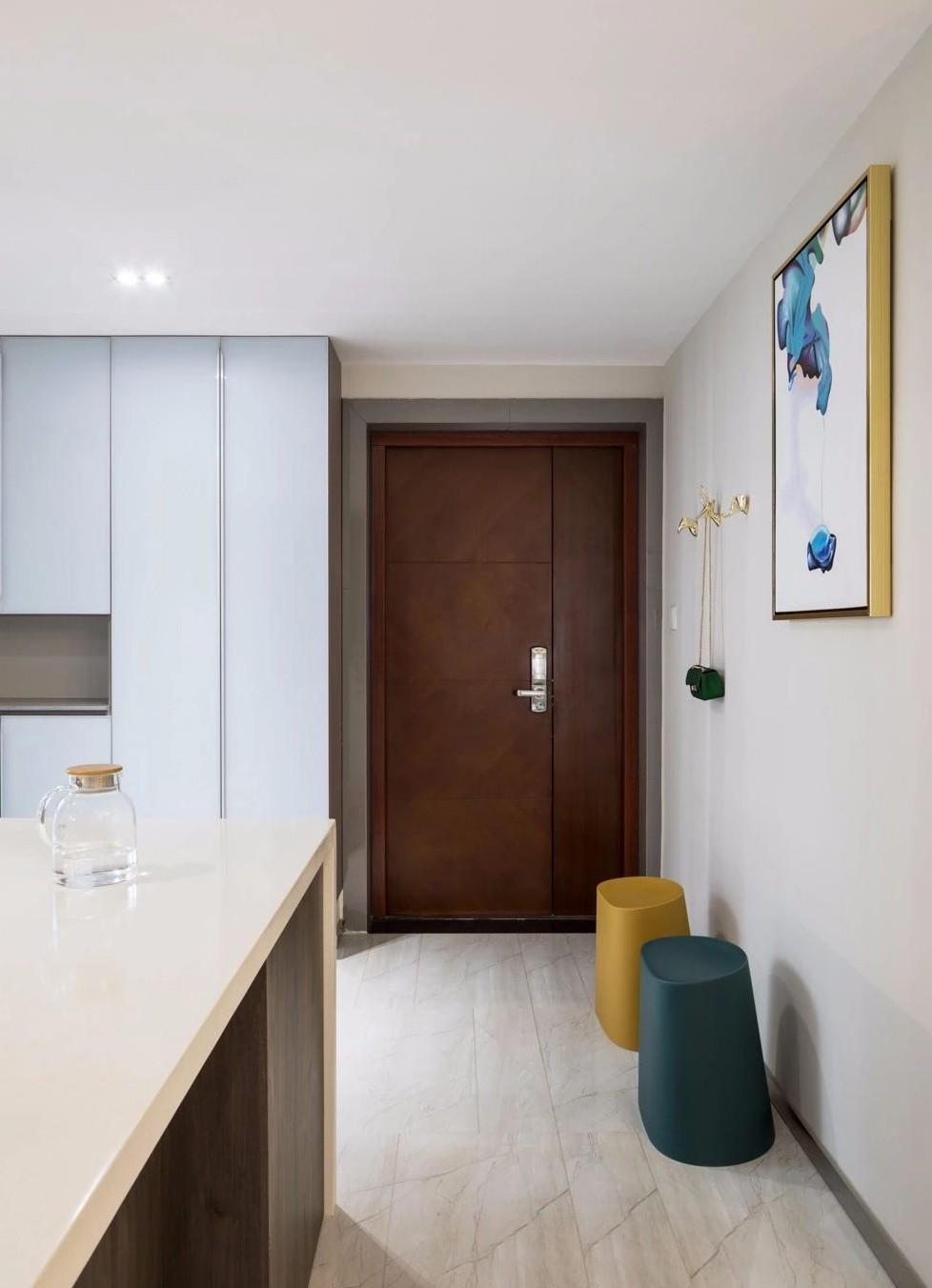 135平现代简约三室 开放式公领域设计12043504