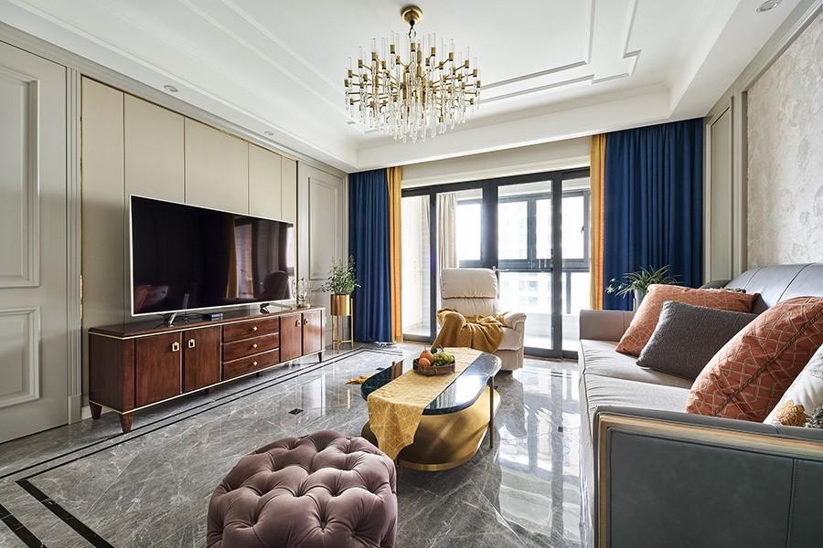 135平方米現代美式三室兩廳12095957